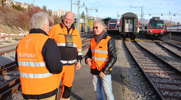 In Switzerland Rail Pastors (Chaplains) support the health and wellbeing of rail staff and share the Gospel of Salvation